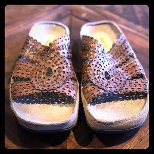 EARTH Leather Boho Sandals